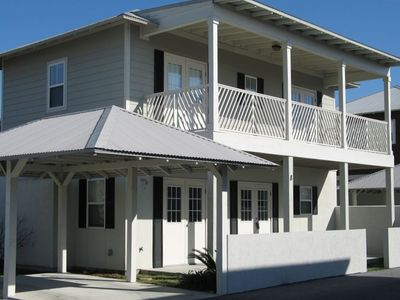 Grande Surf Club house rental - Key West Style Gulf View Family Equipped Beach House-beach access 90 second walk