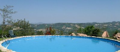 swimming pool plus view (74m2)