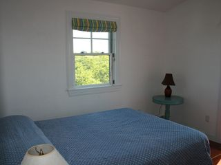 Bedroom # 3 with own deck - Block Island house vacation rental photo