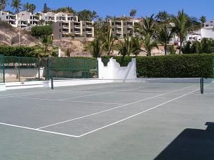 Resort Tennis Court.