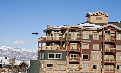9th floor Penthouse, 270 deg Views Walk to Lifts! Best Location at The Canyons!