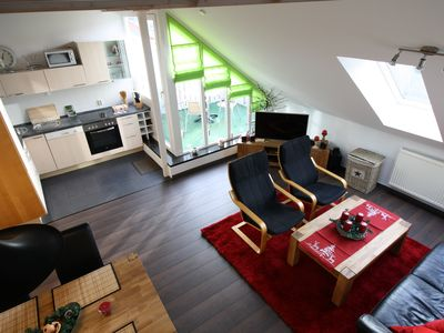 Welcome to the Brocken in maisonette apartment with balcony