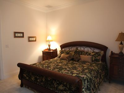 Treasure Cay house rental - Master Bedroom with King bed
