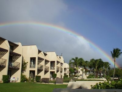 Just another rainbow over the condo