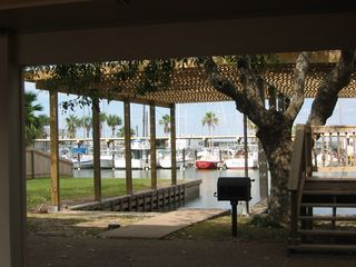 Corpus Christi house photo - Carport & Dock