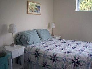 Chilmark cottage photo - Lower level bedroom
