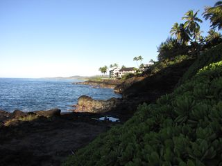 Poipu condo photo - Coast line from the Makahuena