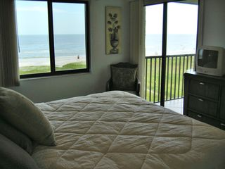 Sanibel Island condo photo - Master Suite has great Gulf Views, opens to Lanai