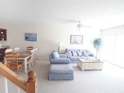 North Wildwood townhome rental - Living room