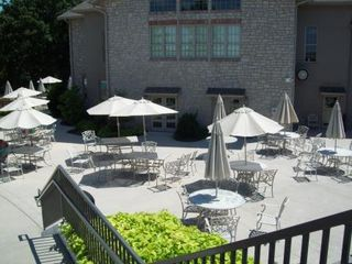 Branson condo photo - Picnic area outside of Clubhouse lower level near pools