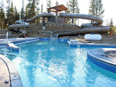Sunriver Aquatic Center (SHARC) Waterslides