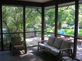 Shelter Island house photo - large screened in porch