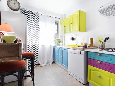 WELCOME to T3 furnished near center TOULOUSE 4-8 persons (parking, elevator