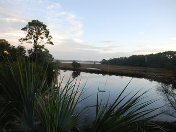 Fripp Island house rental - Water View of the lake the house sits on