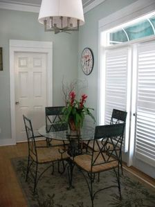 Miramar Beach house rental - 2nd Dining area
