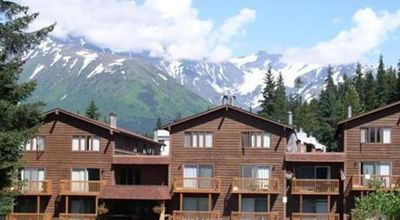 Girdwood condo rental - Brighton Building surrounded by Mountains all around you