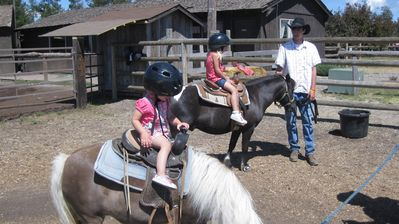 Horseback/Pony Riding at Sunriver Stables
