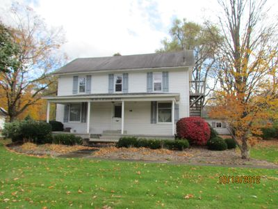 Canandaigua house rental - The turn of the century farmhouse now known as the Inn.