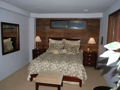 2nd Bedroom features a queen bed, high thread count sheets and comfy appointment