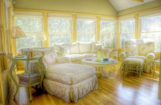 Chilmark house photo - Dreamy sun room to read or just simply relax