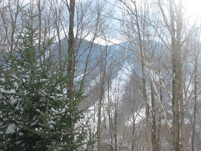 View of Loon Mountain from Deck of Condo