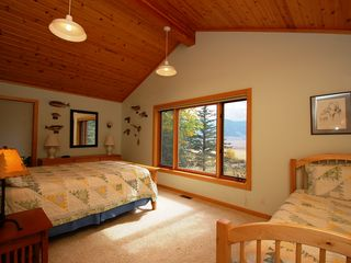 Jackson Hole house photo - Bedroom with 2 Twin Beds - Bedroom with 2 Twin Beds