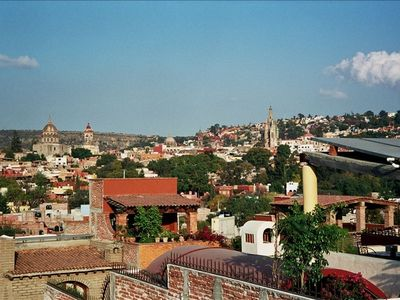 View of the San Miguel skyline from the roof