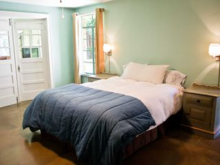 Wimberley property rental photo - 3rd bedroom with a queen bed