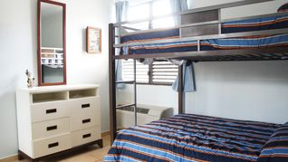 Rincon apartment photo - Second bebroom with top and bottom doble size beds.