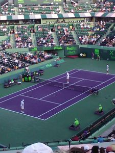 The Sony Ericson Tournament in Key Biscayne, 20 min drive. guess who Nadal is