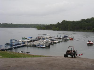 Branson condo rental - Bring your boat or rent one at the marina just 200 yards away.