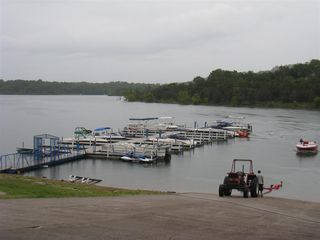 Branson condo photo - Bring your boat or rent one at the marina just 200 yards away.
