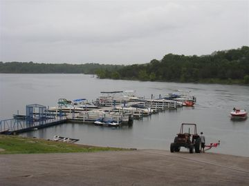 Bring your boat or rent one at the marina just 200 yards away.
