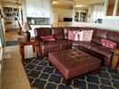 a comfortable living room provides a space to gather with family and friends