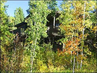 Snowmass Village house photo - This beautiful home is nestled in an Aspen forest