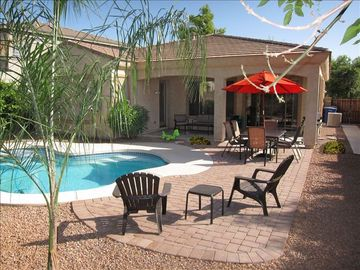 Gilbert house rental - Your backyard Oasis