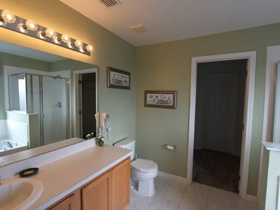 Remington Golf Club villa rental - Large spacious Master Bathroom