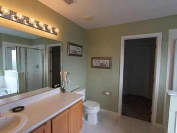 Large spacious Master Bathroom