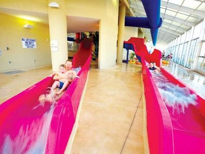 Indoor Waterpark - Water Slides