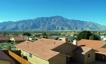 Desert Hot Springs condo rental - View from our 2nd story units