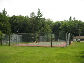 Lincoln cabin photo - Tennis anyone?