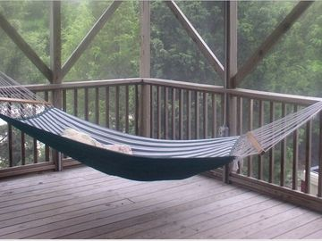 Gazebo -- come relax in the hammock!