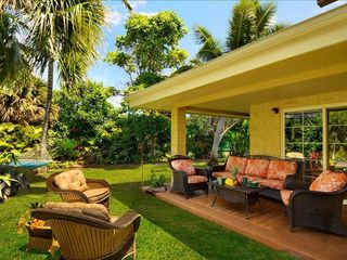 Poipu house photo - PARADISE FOUND. Tropical Hideaway! Private retreat, fruit, flowers waterfall