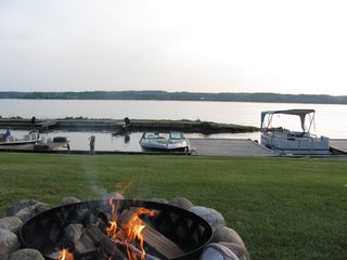 Lake Leelanau cottage photo - It's smores time!