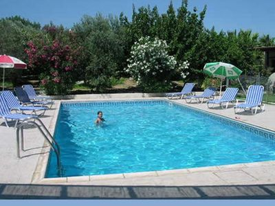 Tochni apartment rental - Pool of two bedroom apartment