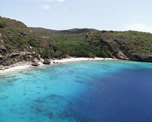 Curacao house photo - From the house you can swim to Playa Hundu beach in just a couple of minutes
