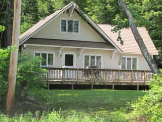 Newfound Lake chalet photo - Front of house