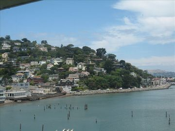 From the deck- Sausalito hills