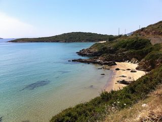 Andros villa photo - Nearby hidden beach (about 5 minutes drive from the house)