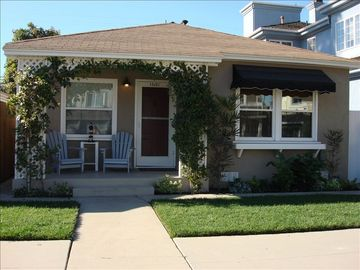 Seal Beach bungalow rental - Front of Beach Cottage